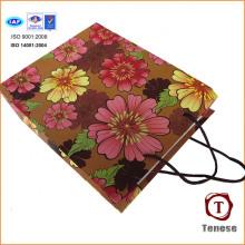 2016 Shopping Paper Bag Flower Gift Paper Bags