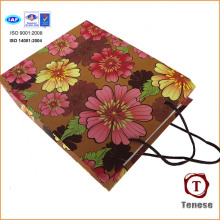 2016 Магазины Бумажная сумка Цветочные подарочные бумажные мешки