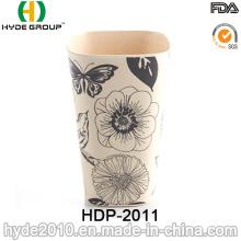 2016 Vários Estilos BPA Livre Ecológica Bambu Fibra Cup (HDP-2011)