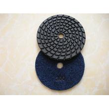 Wet ou Dry Diamond almofadas de polimento flexível para polimento e moagem Stone