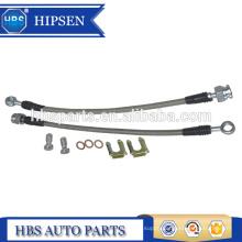 "11"" length stainless steel braided brake hose/brake lines 10MM M10X1.5 BANJO BOLT for GM Universal rear calipers"