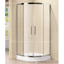 8 мм закаленное стекло Простая душевая комната с рамой из нержавеющей стали (LTS-022)