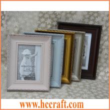 Marco de madera sólido clásico de la foto para el hogar Deco