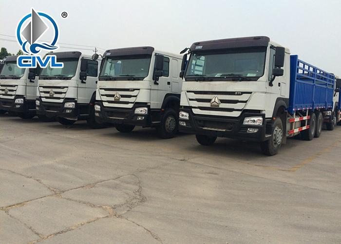 6x4 Heavy Cargo Truck 3