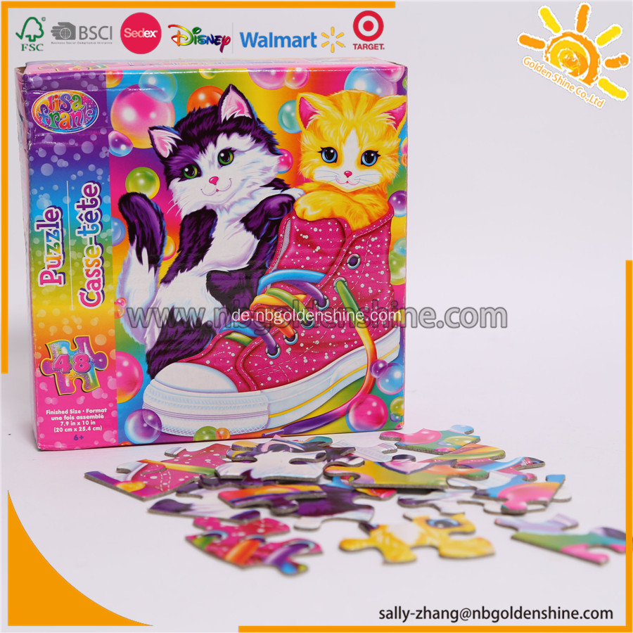 LisaFrank Puzzle In Farbe Box