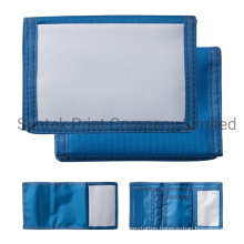 Blue Sublimation Blank Small Wallet