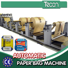 Machine de fabrication de papier Kraft à moteur automatique entièrement automatique avec servomoteur