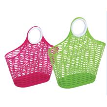 Multifunctional plastic laundry basket storage basket