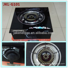 tempered glass top 1 burner gas stove