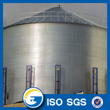 Grain Storage Silo With Sweep Auger