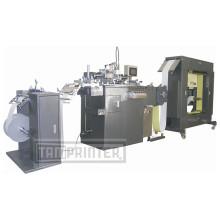 Rollo automático para rodar la máquina de la impresora de la pantalla del PVC Proveedores
