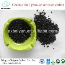 Carvão ativado de coco para planta de carbono ativado por descoloração líquida