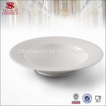 Usine vente directe vaisselle en porcelaine vaisselle moderne grande soupière bol