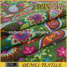 2014 création sort courant de textile en gros de tissus importés