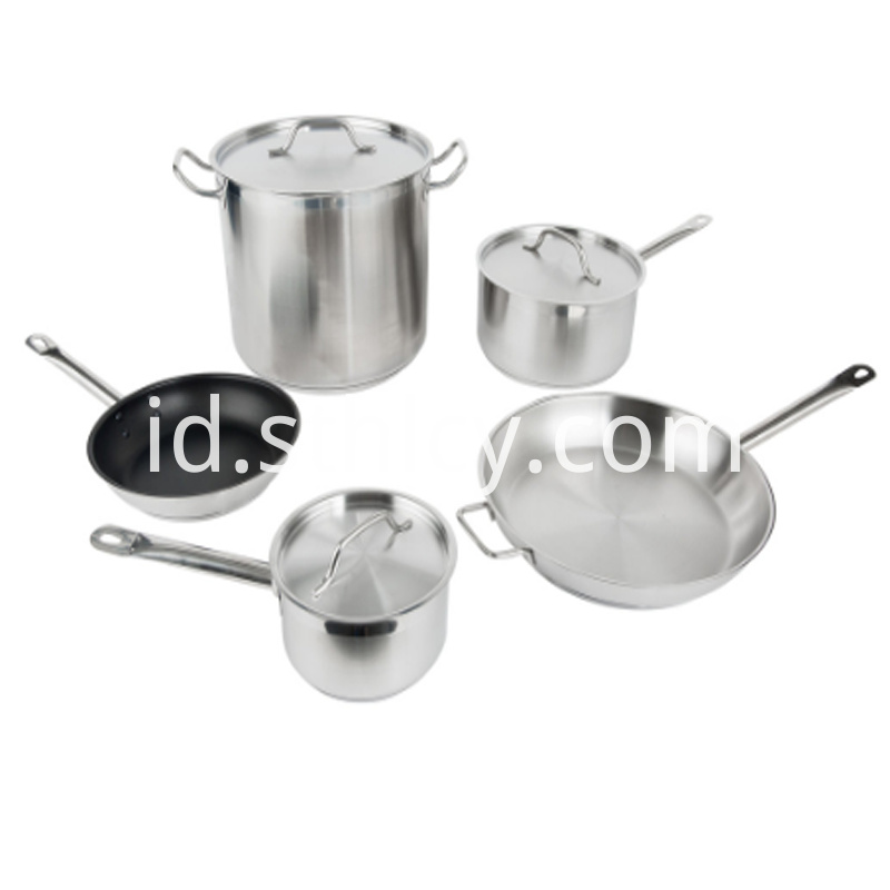 Cookware Set For Commercial Kitchen