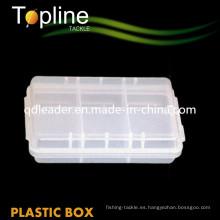 Caja de plástico con múltiples funciones de pesca