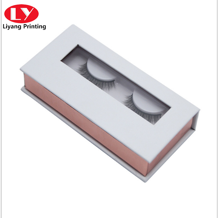 False Eyelash Box with Window