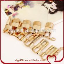 Différents styles et tailles en acier inoxydable en acier inoxydable bracelet bracelet jonc poli