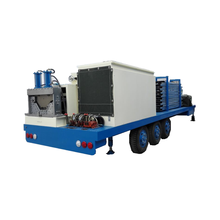SX-ACM-1000-630 hydraulic no beam steel sheet shed/shack roof cold roll making machine arch roof forming machine