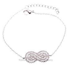 Bijoux en argent sterling, bracelet en chaîne en bijoux en laiton (KT3168)