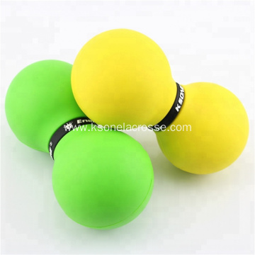Peanut yoga ball rubber massage ball