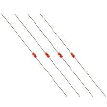 Série encapsulada vidro do tipo NTC do termistor do diodo