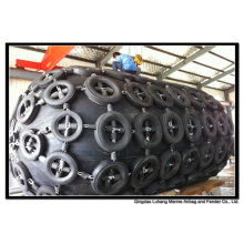 Diâmetro 3500mm x comprimento 6500mm pneumático Fender