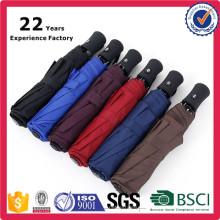 Multi Color Fashionable Promotional Company Gifts Custom Own Logo Umbrella Folding Auto