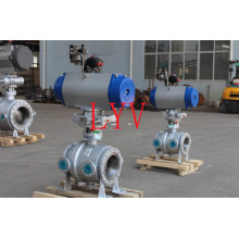 Full Port Trunnion Mounted Flanged Ball Valve with High Quality