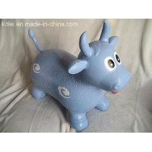 ПВХ молочный корова прыгает игрушка надувной животных игрушек