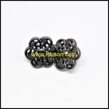 Forma da flor botão de haste de Metal para casaco