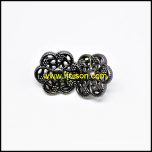 Цветок формы металлические кнопки хвостовик для пальто