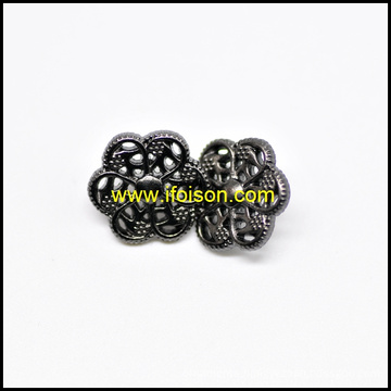 Hollow out Metal Shank Button