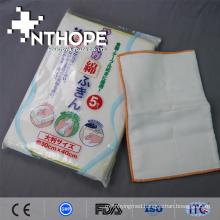 high quality 100% cotton printed gauze kitchen rag rug