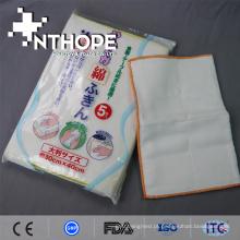 alta qualidade 100% algodão impresso gaze tapete de pano de cozinha