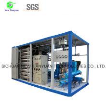 0-220lmin Volume Skid Mounted LNG Filling Station