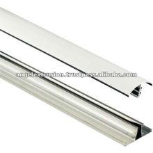 Perfil de alumínio para clipe de vidro