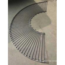 Curved Conveyor Wire Mesh Belt