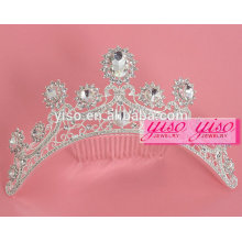 Kleid dekorative benutzerdefinierte Prinzessin Hochzeit Tiara Braut Haar Kämme