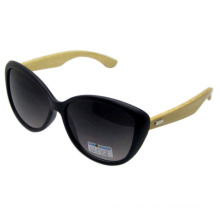 Atractivo diseño de moda gafas de sol de bambú (sz5758)