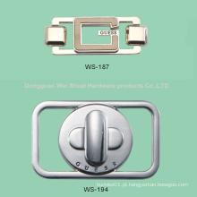Etiqueta para sacos, liga de zinco Logo
