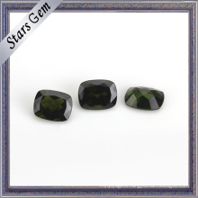 Rectangle Cushion Nataural Cut Diopside for Fashion Jewellery