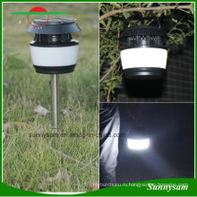 Светильник солнечной лужайки для сада с подсветкой для комаров