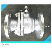 API Flange/Flanged Floating/Trunnion Stainless Steel Ball Valve