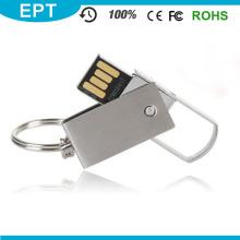 Plata giratoria de metal USB Flash Pen Drive para la computadora (EM018)