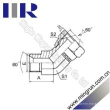 Elbow Bsp Homem / Bsp Mulher 60 Cone montagem de tubo (2B4)