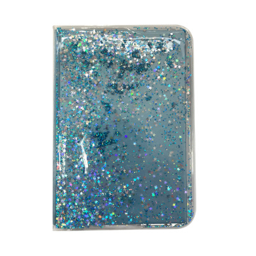 GLITTER PVC LIQUID NOTEBOOK-0