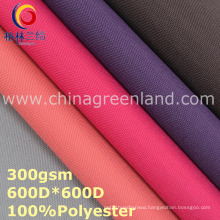Oxford 600 D Polyester Plain Fabric Coated for Textile (GLLML309)