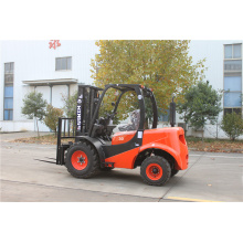 4x2 Rough Terrain Forklift 3 ton
