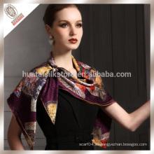 2014 bufanda atractiva de moda de las mujeres del hijab caliente del telar jacquar de seda musulmán
